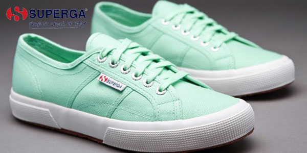 Zapatillas Superga 2750 COTU Classic en color verde para mujer baratas en Amazon