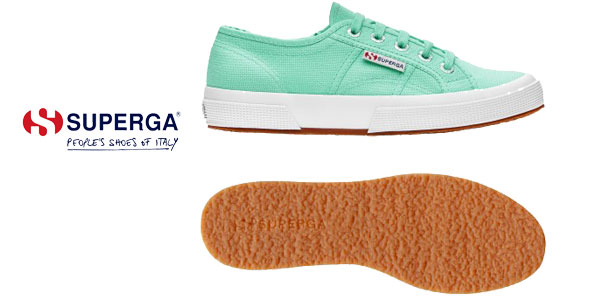 Zapatillas Superga 2750 COTU Classic en color verde para mujer chollazo en Amazon