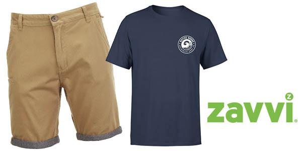 Zavvi ofertas verano con pantalón corto y camisetas baratas