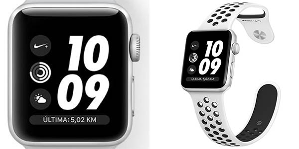 Apple Watch 3 NIKE+ de 42 mm barato
