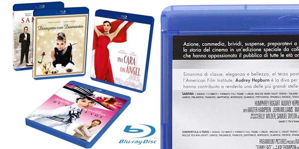 Audrey Hepburn MasterCollection (4 Blu-ray) chollo en Amazon