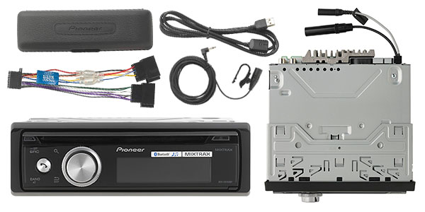 Autorradio Pioneer DEH-X8700BT con CD, USB y Bluetooth barata