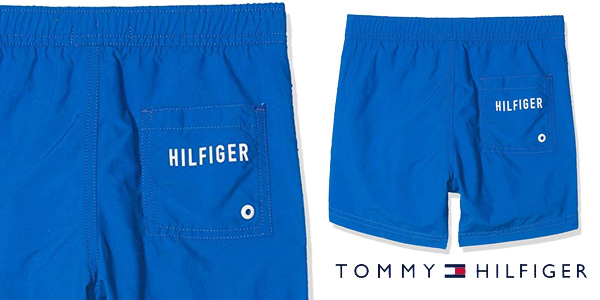 Bañador Tommy Hilfiger Medium Drawstring para niños chollo en Amazon
