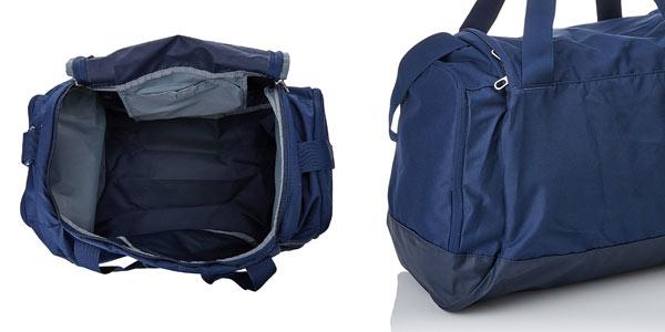 Bolsa de deporte Nike Club Team Swoosh Duffel pequeña en color azul