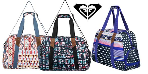 Bolsa de viaje mediana Roxy Sugar It Up con 3 diseños para mujer barata en eBay