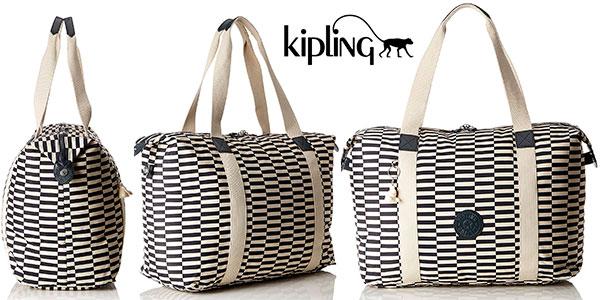Bolsa de viaje Kipling Art M Fold Printed de 33 litros barata