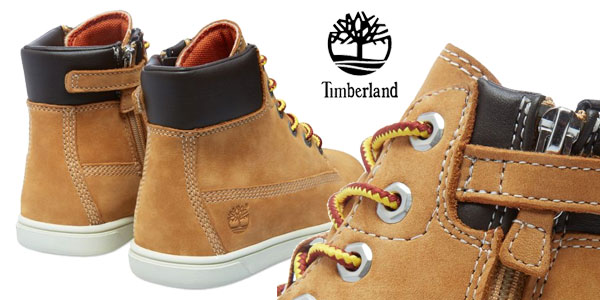 Botas Timberland Groveton en color beige para niños chollo en Amazon