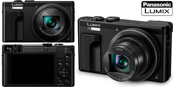 Cámara compacta Panasonic Lumix DMC-TZ80-K de 18.1 MP barata