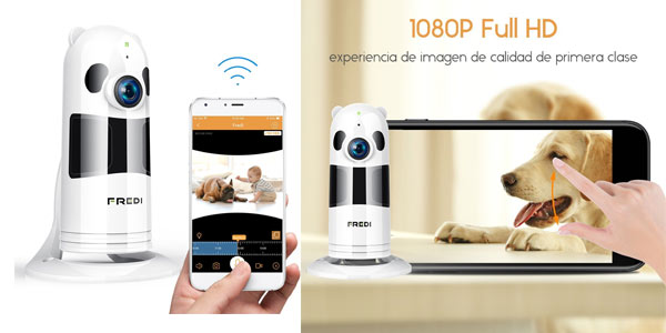 Cámara de vigilancia Wifi Fredi HD en oferta en Amazon