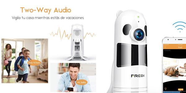 Cámara de vigilancia WiFi sencilla a buen precio en Amazon