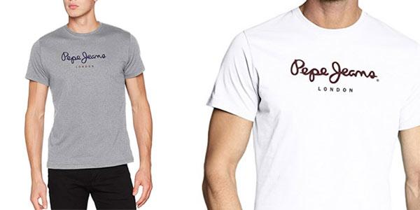 Camiseta Pepe Jeans Eggo para hombre al mejor precio en Amazon