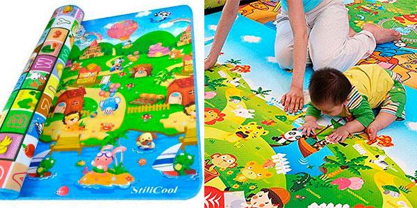 Chollo Alfombra StillCool Playmat de juego y gateo para bebé y niñ@s