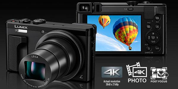 Chollo Cámara compacta Panasonic Lumix DMC-TZ80-K de 18.1 MP y con zoom óptico 30x