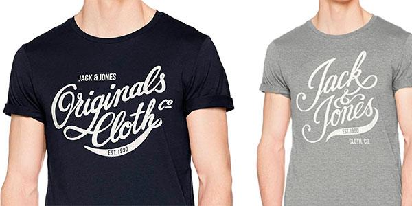 Chollo Camisetade manga corta Jack & Jones Originals Jorblog de algodón para hombre