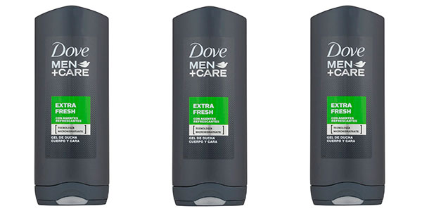 Chollo Gel de ducha Dove Men+ Care Extra Fresh de 400 ml