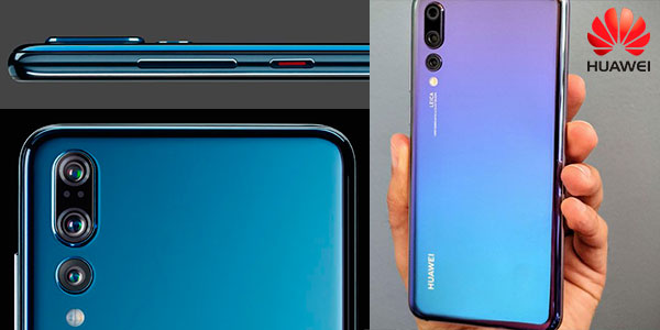"Chollo Huawei P20 Pro de 6,1"" con 6GB RAM y 128GB ROM de color azul Twilight"