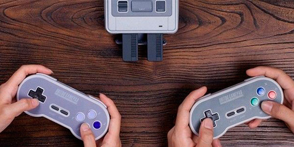 Chollo Mando inalámbrico 8bitDo para SNES Mini y PC