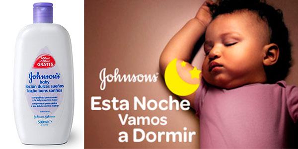 Chollo Pack 6 x Loción Dulces Sueños Johnson's Baby de 500 ml