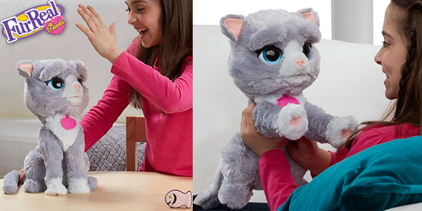 Chollo Peluche Gatita Bootsie de Fur Real Friends