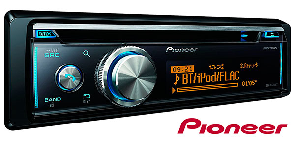 Chollo Radio de coche Pioneer DEH-X8700BT con CD y USB