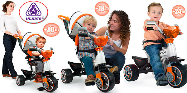 Chollo Triciclo evolutivo Injusa Body Max para bebés