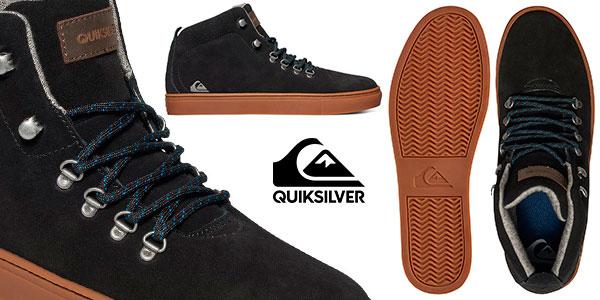 Chollo Zapatillas de media bota Quiksilver Jax de color negro para hombre