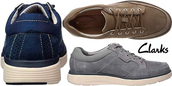 Chollo Zapatos de cordones derby Clarks Un Abode Lace para hombre
