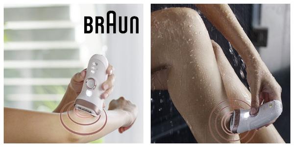 Depiladora inalámbrica Braun Silk-épil 9 9/890 SensorSmart chollo en Amazon