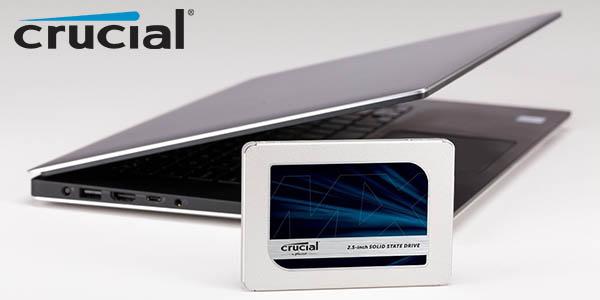 Disco SSD Crucial MX500 de 2 TB barato