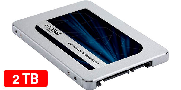 Disco SSD Crucial MX500 de 2 TB