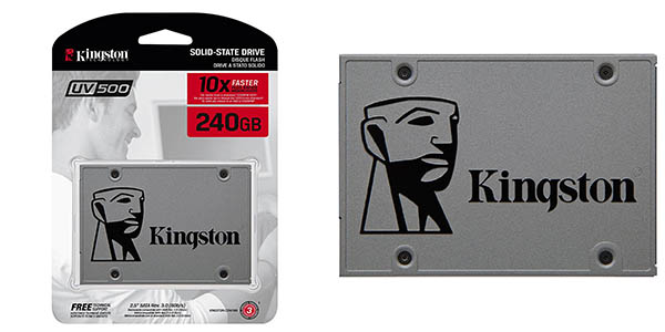 Disco SSD Kingston SUV500 de 240 GB barato