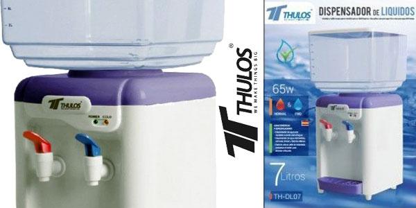 Dispensador de agua refrigerador Thulos TH-DL07 con dos grifos chollo en eBay