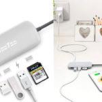 Hub 6 en 1 HooToo con USB-C + HDMI + Tarjeta SD + 3 USB en oferta