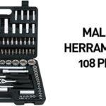 Maletín de herramientas con 108 piezas