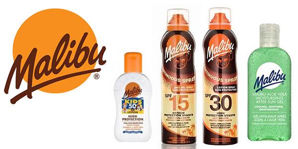 Malibu pack de cremas solares baratas