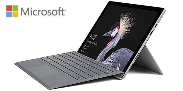 Microsoft Surface Pro de 12,3'' + Type Cover