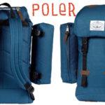 Mochila mediana Classic Rucksack Poler Stuff azul barata en Amazon