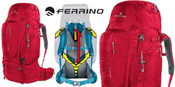 Mochila de trekking Ferrino Transalp de 100 litros barata