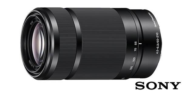 Objetivo Sony SEL55210 de 55-210mm F4.5-6.3mm