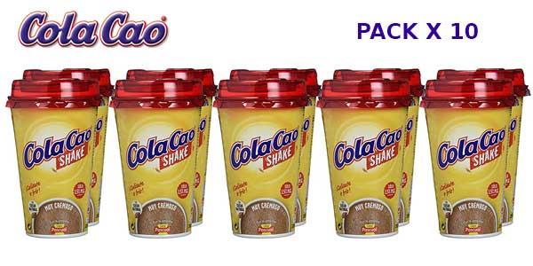 Pack de10 Vasos de Cola-Cao Shake de 200 ml barato en Amazon