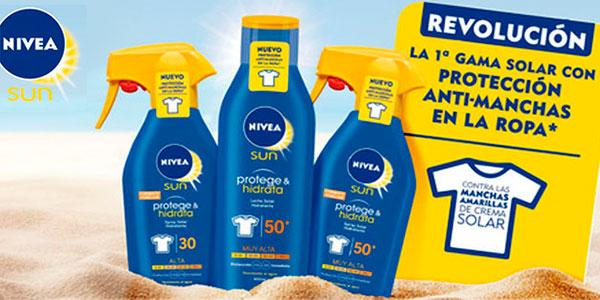 Pack de 2 botes Crema solar Nivea Factor 30 (250 ml) + After sun Malibu (100 ml) barato