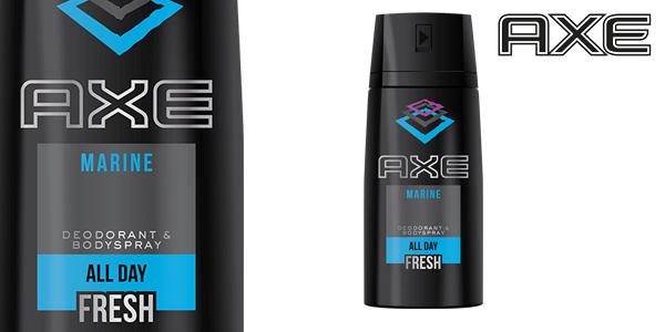 Pack de 3 Botes AXE Marine x 150ml Desodorante Bodyspray para hombre chollo en Amazon