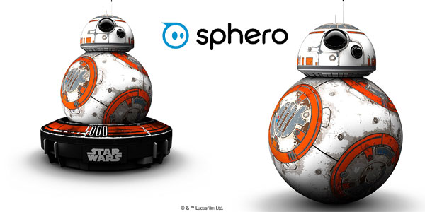 Pack Coleccionista Star Wars Sphero BB-8 con pulsera Force Band (Edición especial) chollo en Amazon
