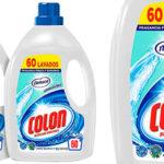 Pack de 2 botellas de detergente líquido Colón con fragancia Nenuco de 60 lavados (120 lavados) hipoalergénico barato