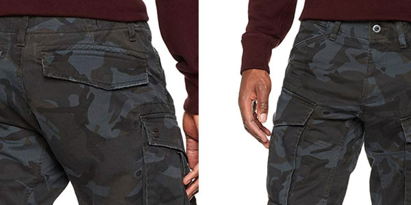 Pantalones cargo G-Star Raw Rovic 3D rebajados en Amazon