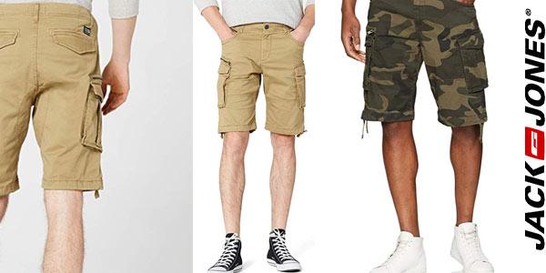 Pantalones cortos Cargo Jack & Jones baratos en Amazon
