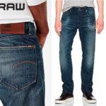 Pantalones vaqueros G-Star Raw para hombre baratos