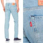 Pantalones vaqueros Levi's 511slim fit de color azul para hombre en oferta