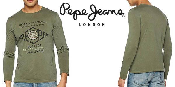 Pepe Jeans Basuki camiseta para hombre barata