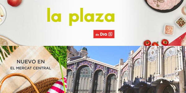Amazon Prime Now con cupón de descuento para la Plaza de Dia y Mercado Central de Valencia